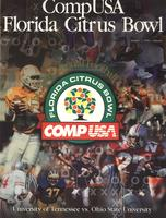 1995 Football Program - UT vs Ohio State (Citrus Bowl)