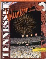 1995 Football Program - UT vs Vanderbilt