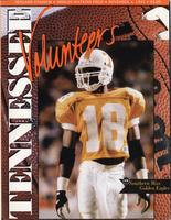 1995 Football Program - UT vs Southern Mississippi