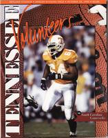 1995 Football Program - UT vs South Carolina