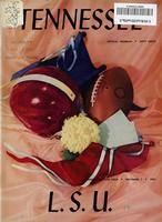 1953 Football Program - UT vs LSU