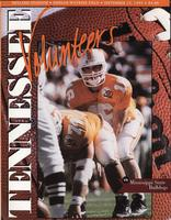 1995 Football Program - UT vs Mississippi State