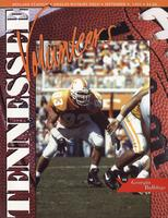 1995 Football Program - UT vs Georgia