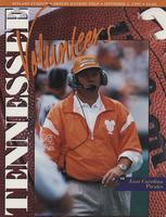 1995 Football Program - UT vs East Carolina