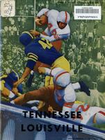 1953 Football Program - UT vs Louisville