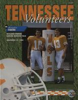 1994 Football Program - UT vs Memphis