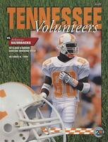 1994 Football Program - UT vs Arkansas