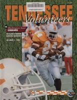 1994 Football Program - UT vs Washington State