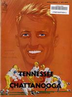 1953 Football Program - UT vs UT-Chattanooga