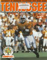1993 Football Bowl Guide - UT vs Penn State (Citrus Bowl)