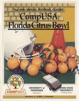 1993 Football Program - UT vs Penn State (Citrus Bowl)