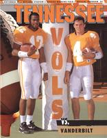 1993 Football Program - UT vs Vanderbilt