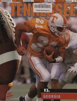 1993 Football Program - UT vs Georgia