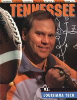 1993 Football Program - UT vs Louisiana Tech