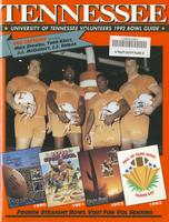 1992 Football Bowl Guide - UT vs Boston College (Hall of Fame Bowl)