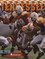 1992 Football Program - UT vs Arkansas