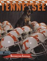 1992 Football Program - UT vs SW Louisiana