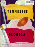 1952 Football Program - UT vs Florida