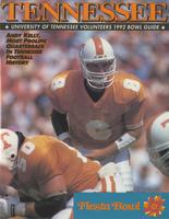 1991 Football Bowl Guide - UT vs Penn State (Fiesta Bowl)