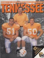 1991 Football Program - UT vs Vanderbilt