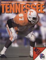 1991 Football Program - UT vs Mississippi