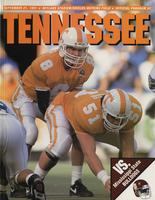 1991 Football Program - UT vs Mississippi State