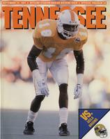 1991 Football Program - UT vs UCLA