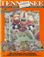 1990 Football Bowl Guide - UT vs Virginia (Sugar Bowl)