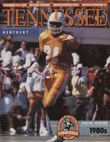 1990 Football Program - UT vs Kentucky