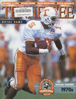 1990 Football Program - UT vs Notre Dame