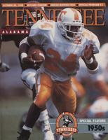 1990 Football Program - UT vs Alabama