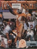 1990 Football Program - UT vs Florida