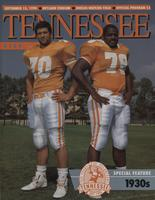 1990 Football Program - UT vs UTEP