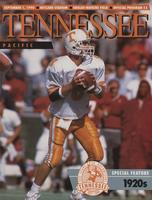 1990 Football Program - UT vs Pacific