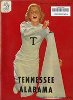 1952 Football Program - UT vs Alabama