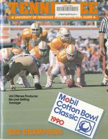 1989 Football Bowl Guide - UT vs Arkansas (Cotton Bowl)