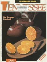 1989 Football Program - UT vs Vanderbilt