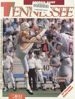 1989 Football Program - UT vs Georgia