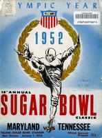 1951 Football Program - UT vs Maryland (Sugar Bowl)