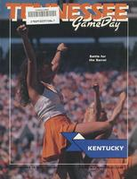 1988 Football Program - UT vs Kentucky