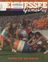 1986 Football Program - UT vs Kentucky
