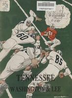 1951 Football Program - UT vs Washington & Lee