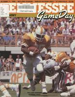 1986 Football Program - UT vs Army