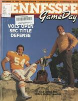 1986 Football Program - UT vs Mississippi State
