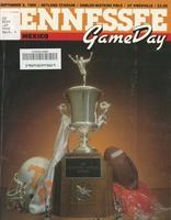1986 Football Program - UT vs New Mexico