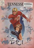 1951 Football Program - UT vs Tennessee Tech