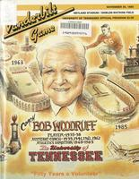 1985 Football Program - UT vs Vanderbilt