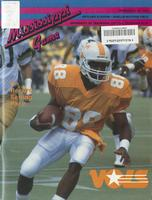 1985 Football Program - UT vs Mississippi