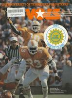 1984 Football Press Guide - UT vs Maryland (Sun Bowl)