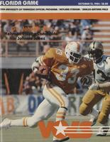 1984 Football Program - UT vs Florida